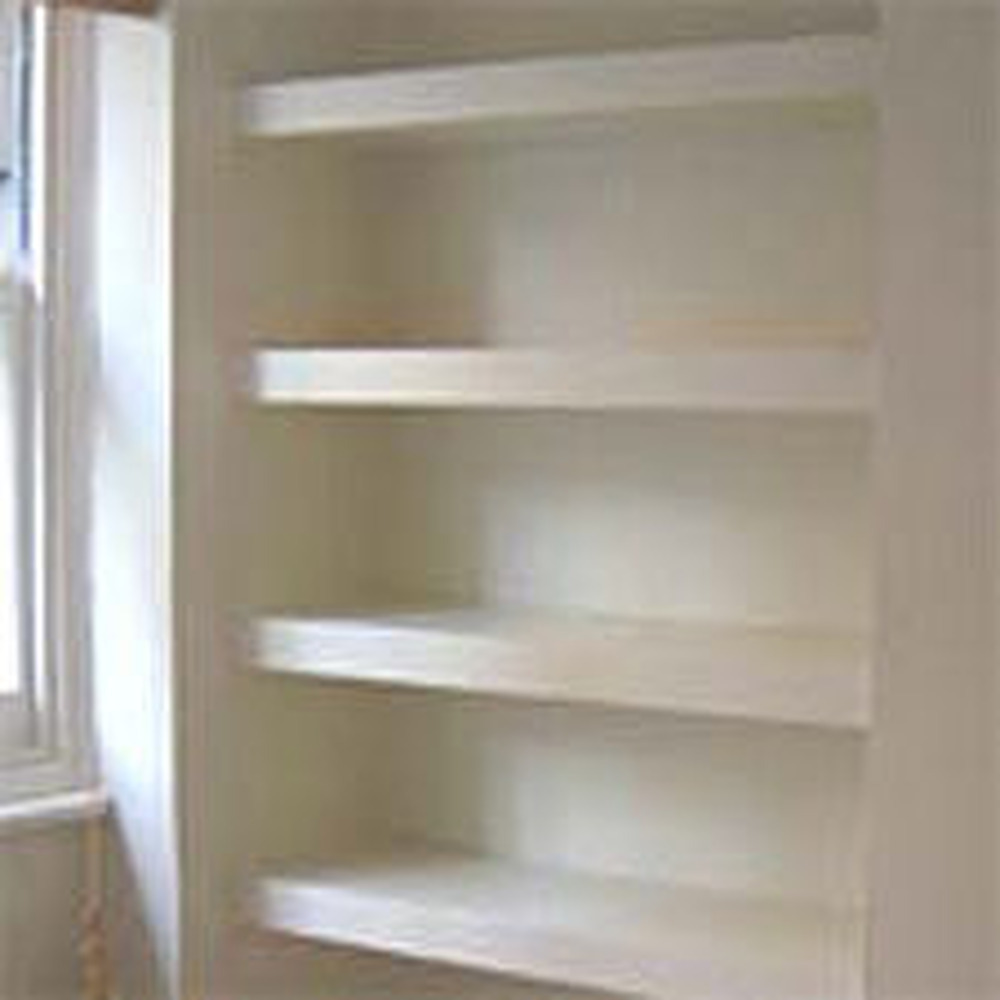 Alcove cupboard & shelves - Carpentry & Joinery job in ...
