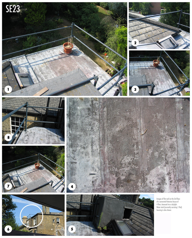 Flat Roof Roof Terrace Roofing Job In Forest Hill