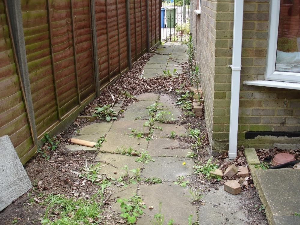 Artifical Grass/paving Garden Project - Landscape Gardening Job In Farnborough Hampshire ...