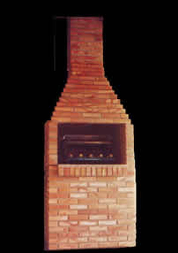 Build Brick Barbeque Carraqueira In Garden Bricklaying