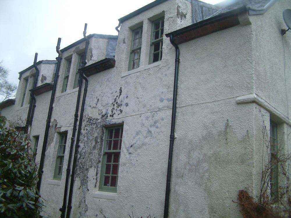 Harling Repair To Exterior Walls Of House Plastering Job