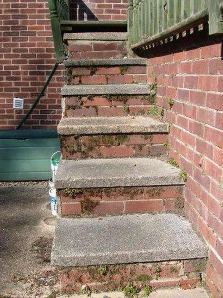 Brick Garden Steps Brick Steps
