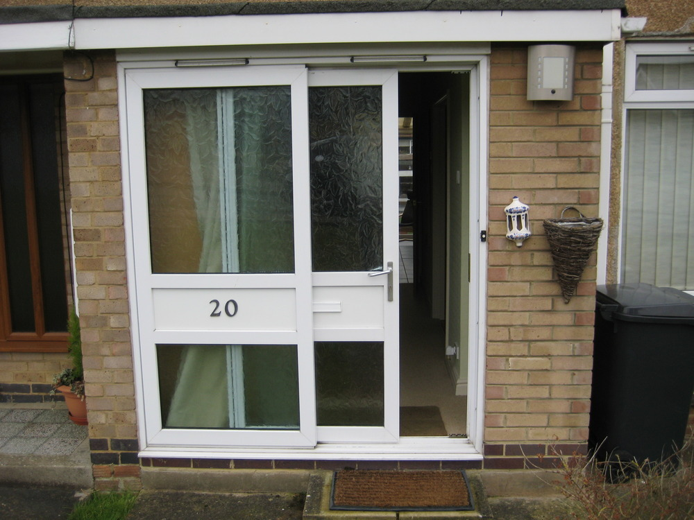 Supply and fit upvc front door and side panel windows for Front door and side panel