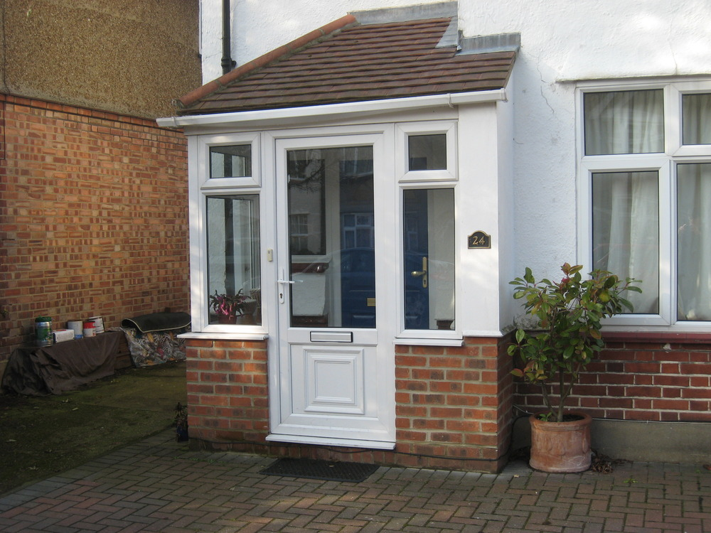 Porch extensions job in isleworth middlesex mybuilder for Porches login