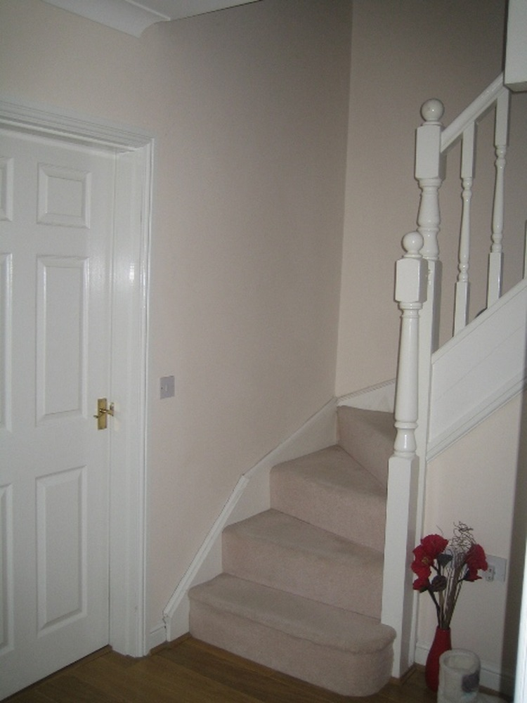 Decorate Hall Stairs Landing Paint Amp Paper Painting Amp Decorating Job In Crewe