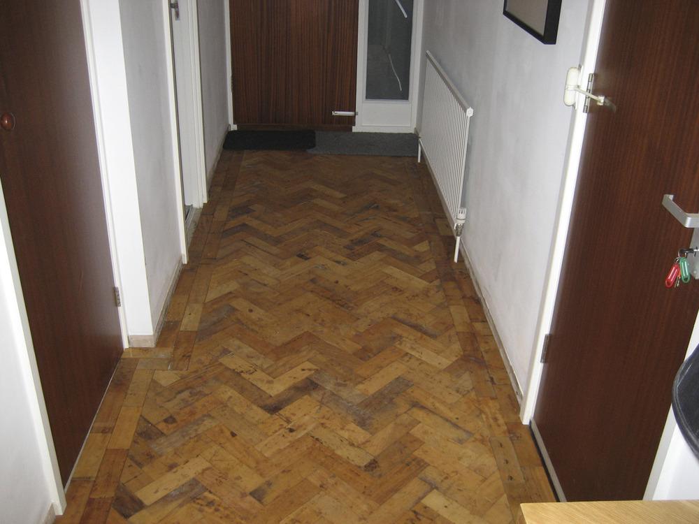 Reclaimed Parquet Floor Flooring Job In Blackheath South London