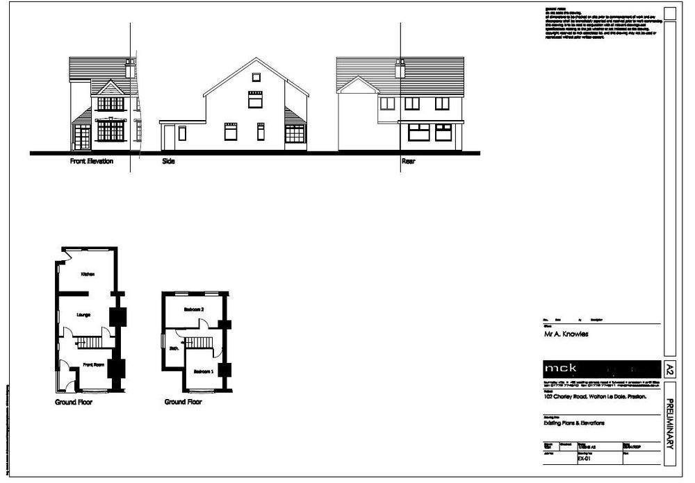 extension to 1930 u0026 39 s semi detached house in preston