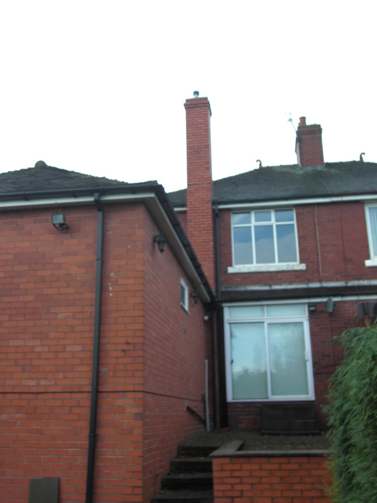 Remove External Chimney Roofing Pitched Job In Stoke