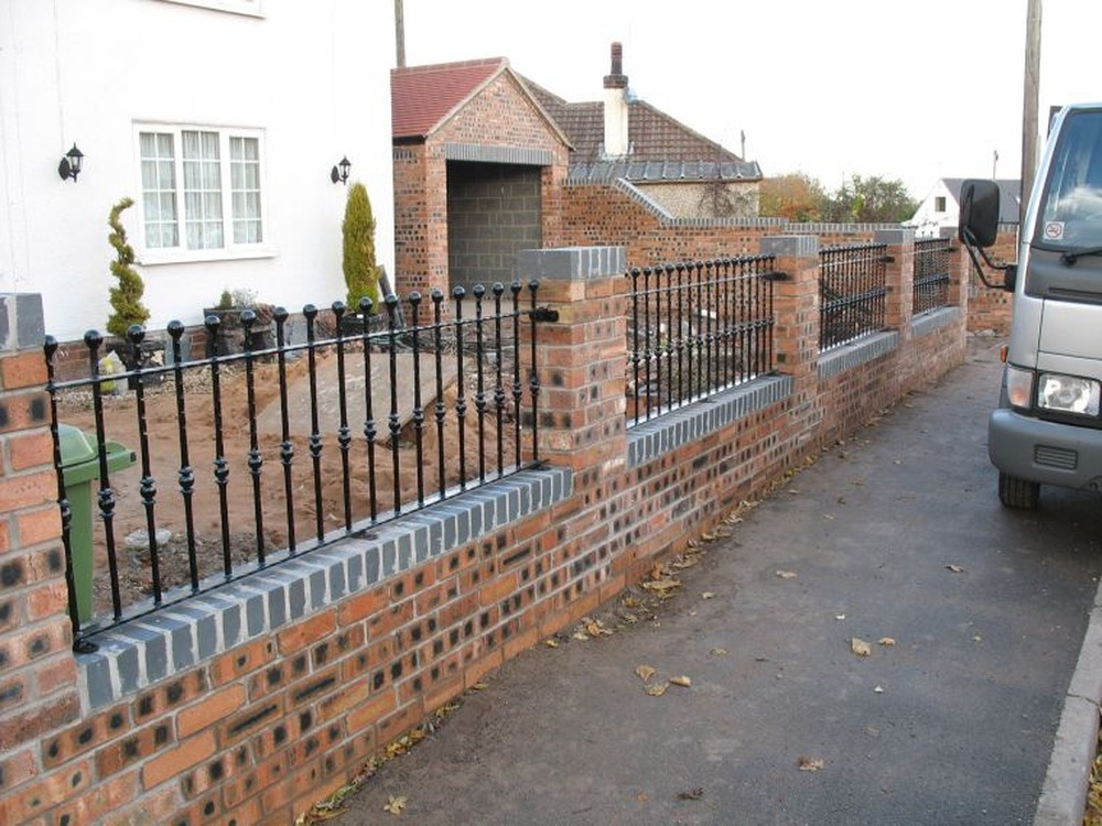 Garden Wall Bricklaying Job In York North Yorkshire