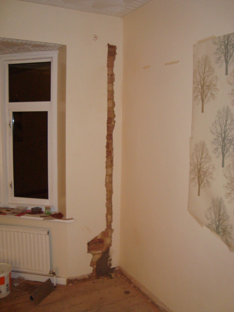 Make Good Plastering After Rewire Plastering Job In
