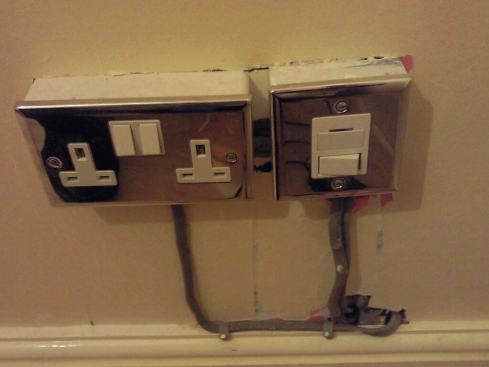 Electric Socket Amp Spur Electrical Job In Redditch