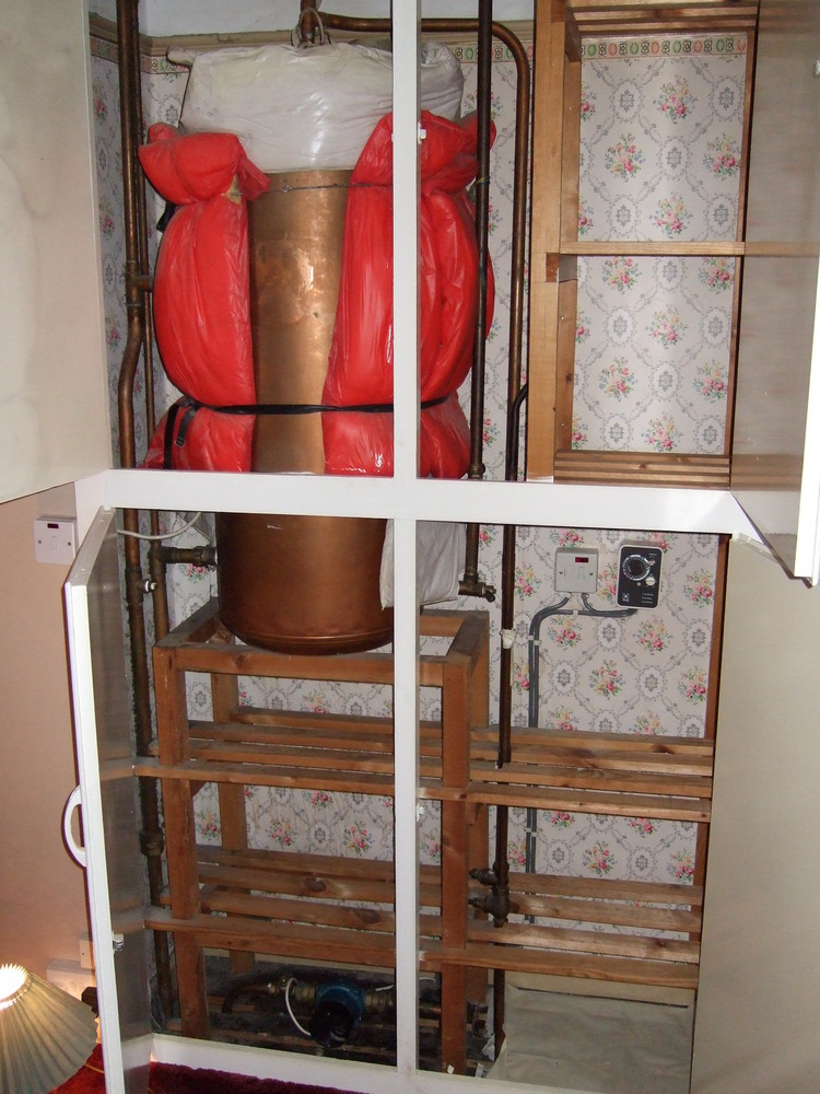 Replace Old Back Boiler With Modern Boiler Gas Work Job
