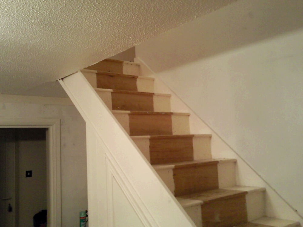 Fit New Staircase Banister Balustrade Spindles Carpentry