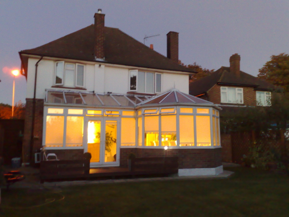 Renew Flashing Adjoining Conservatory Roofing Job In
