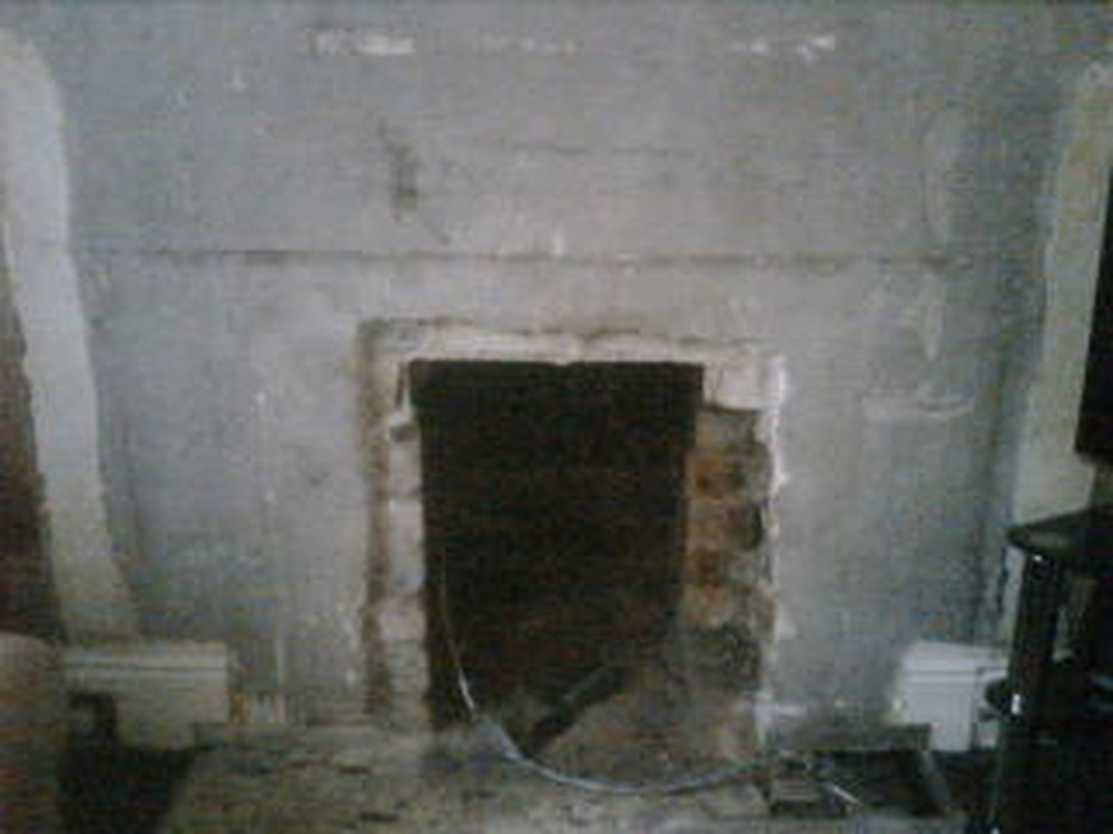 Need Fire Place Hole Making Bigger On Chimney Breast