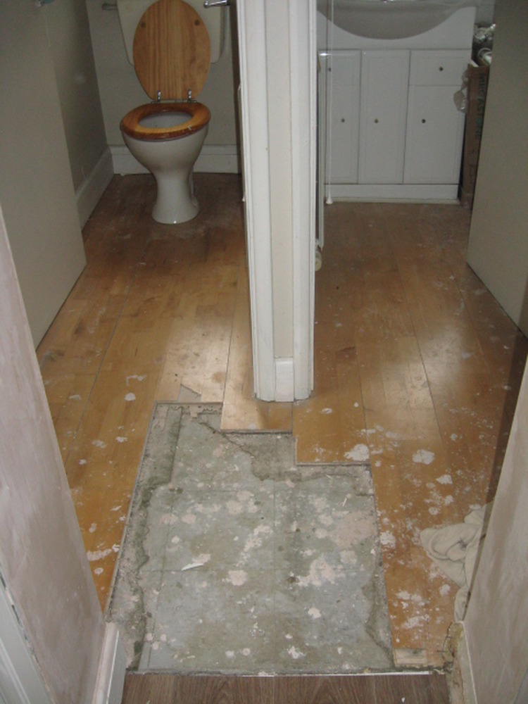 Electricians In My Area >> Tiling floor in downstairs toilet and shower room - Tiling job in Upper Edmonton, North London ...