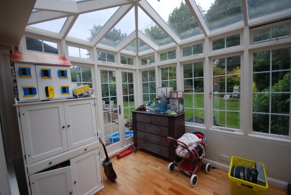Re Paint Inside Of Hardwood Conservatory Painting