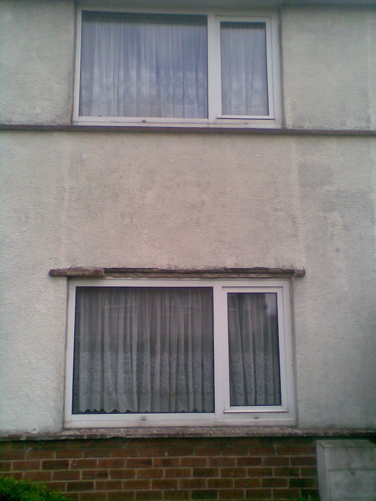 Replace Window Lintel X2 Restoration Amp Refurbishment Job