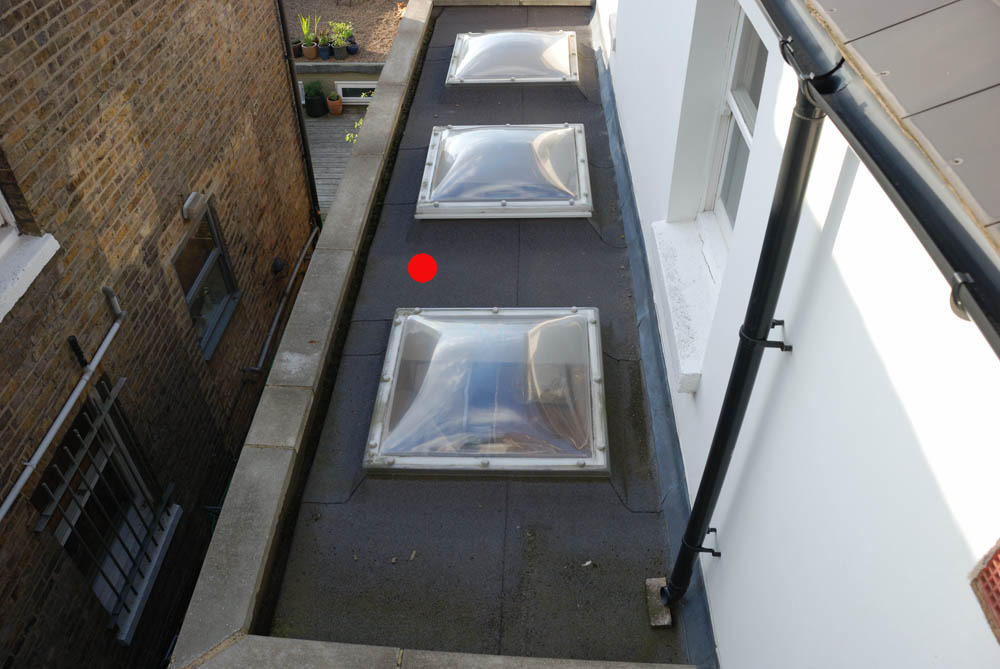 Install Extractor Flue Terminal Through Flat Roof