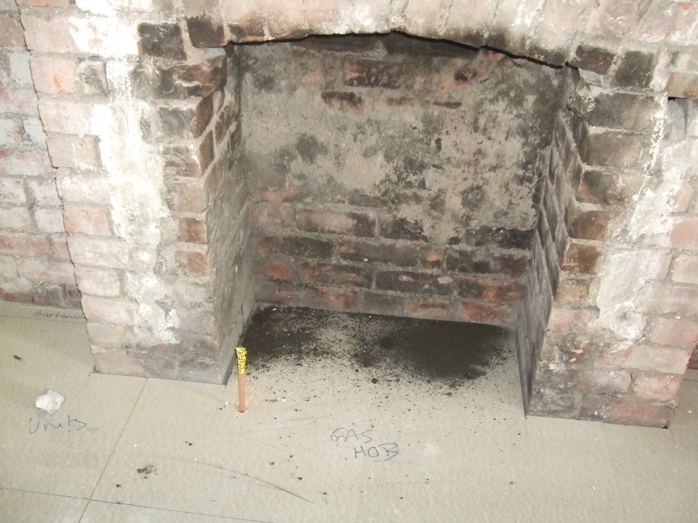 Fit New Lintel Into Chimney Breast And Extend Opening