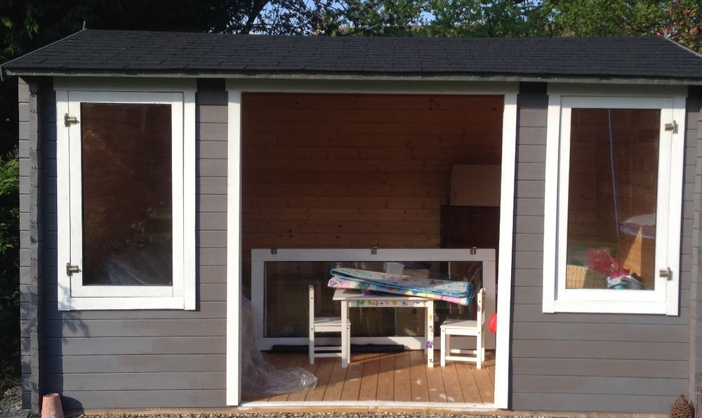 Photographs & Fit Summerhouse doors and windows - Carpentry \u0026 Joinery job in ...