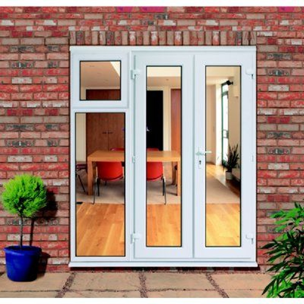 Replace patio doors with french doors windows job in for Patio doors with side panels
