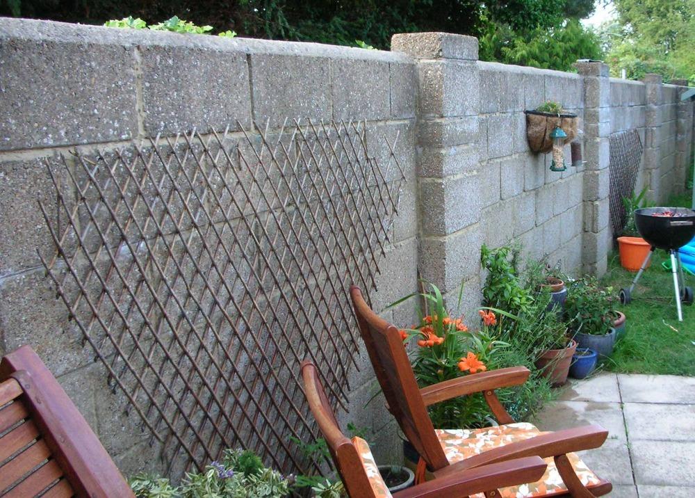 Garden Block Wall Designs