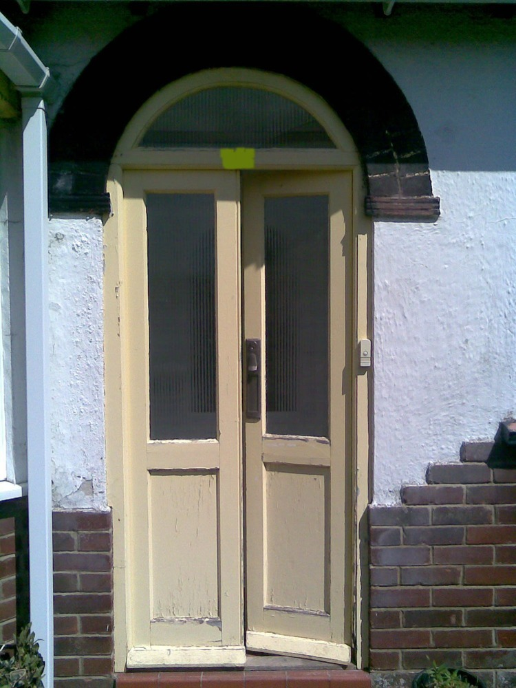 Make Some Replacement Storm Porch Doors And Fit Joinery