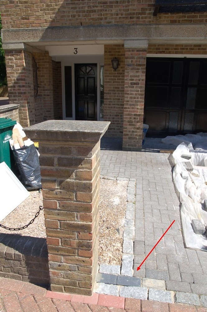 Move Brick Pillar And Make Good Bricklaying Job In
