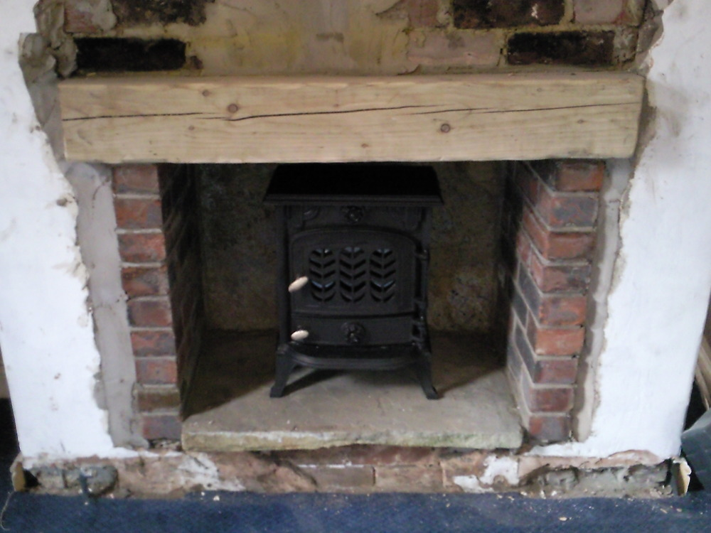 Install Wood Burning Stove Gas Work Job In Oldham