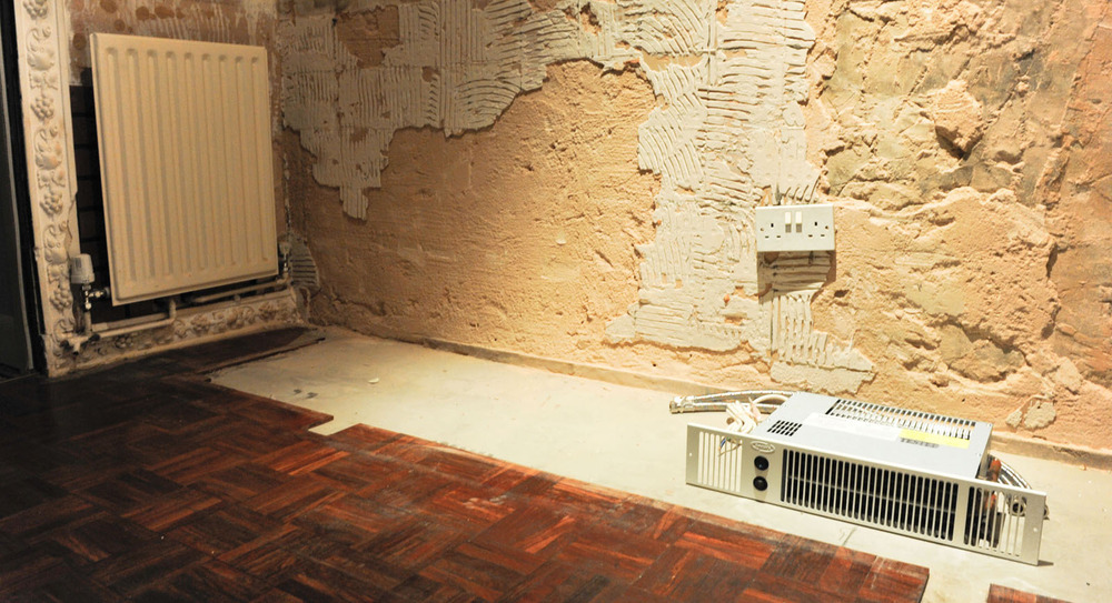 Kitchen Remove Radiator Install Plinth Heater Plumbing Job In