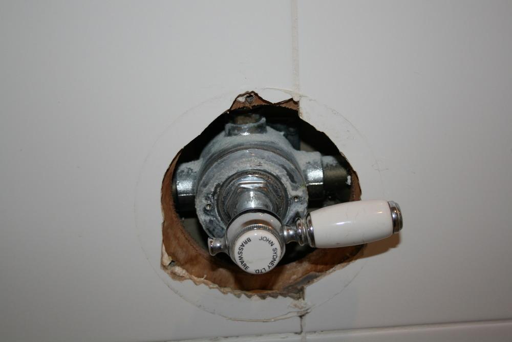 Replacement Of Mixer Shower Valve Plumbing Job In