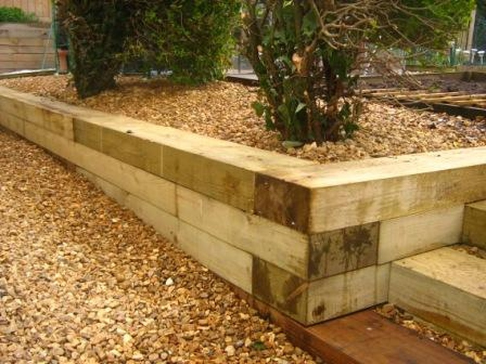 Amazing Retaining Wall Idea Festooning - All About Wallart ...