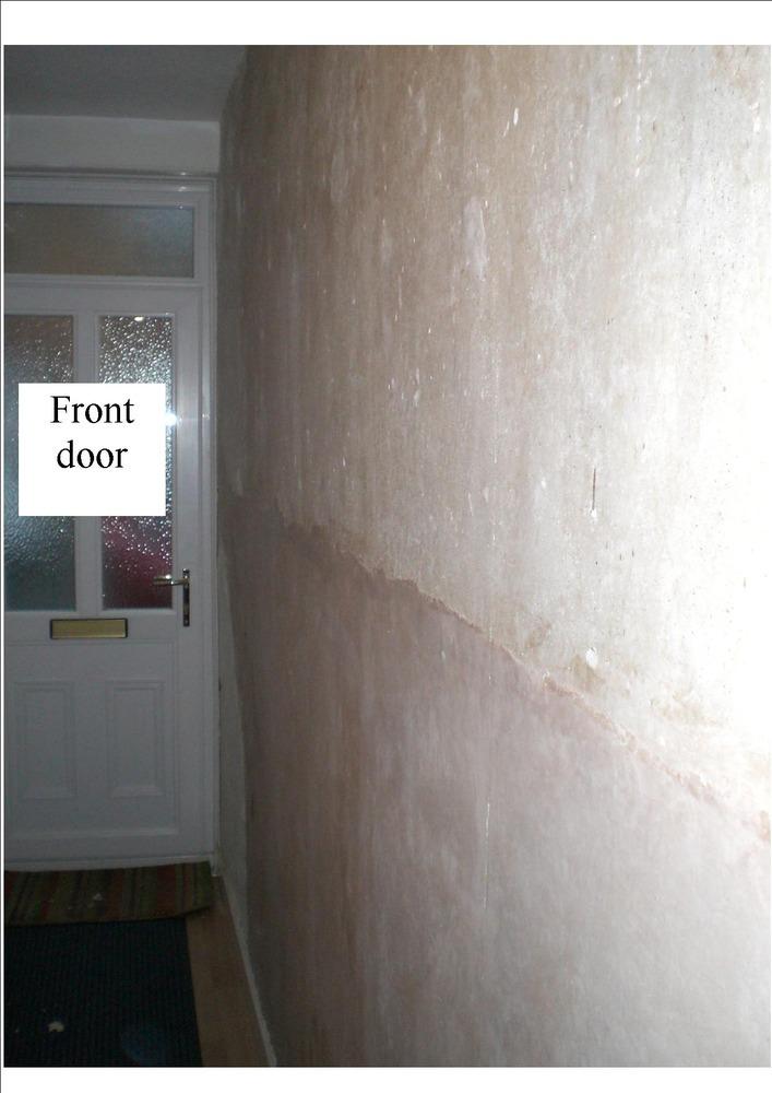 Fix Damp Blown Plaster Amp Skim Hall Stairs Amp Landing