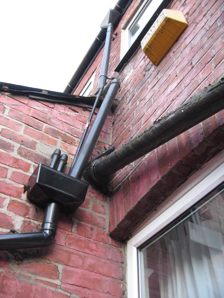 Replace Cast Iron Soil Stack Plumbing Job In Stockport