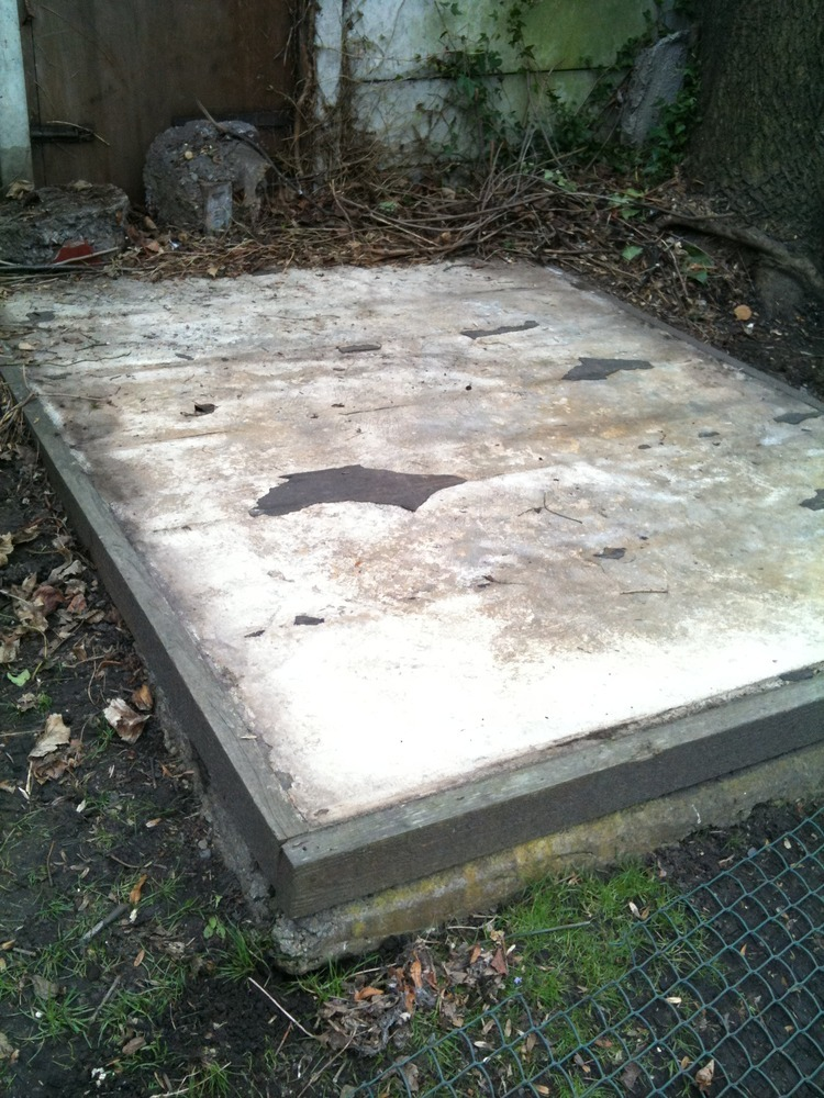 Concrete Shed Base Removal 8 X 6ft Demolition Amp Clearing