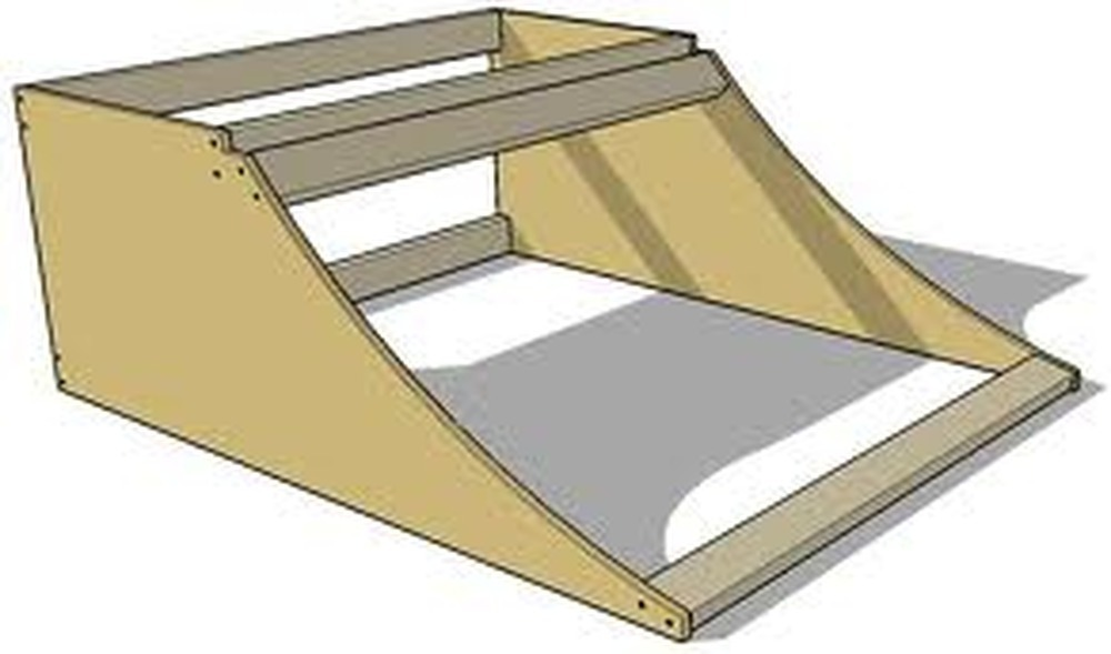 Wooden Skate Ramp Quarter Pipe Carpentry Amp Joinery Job