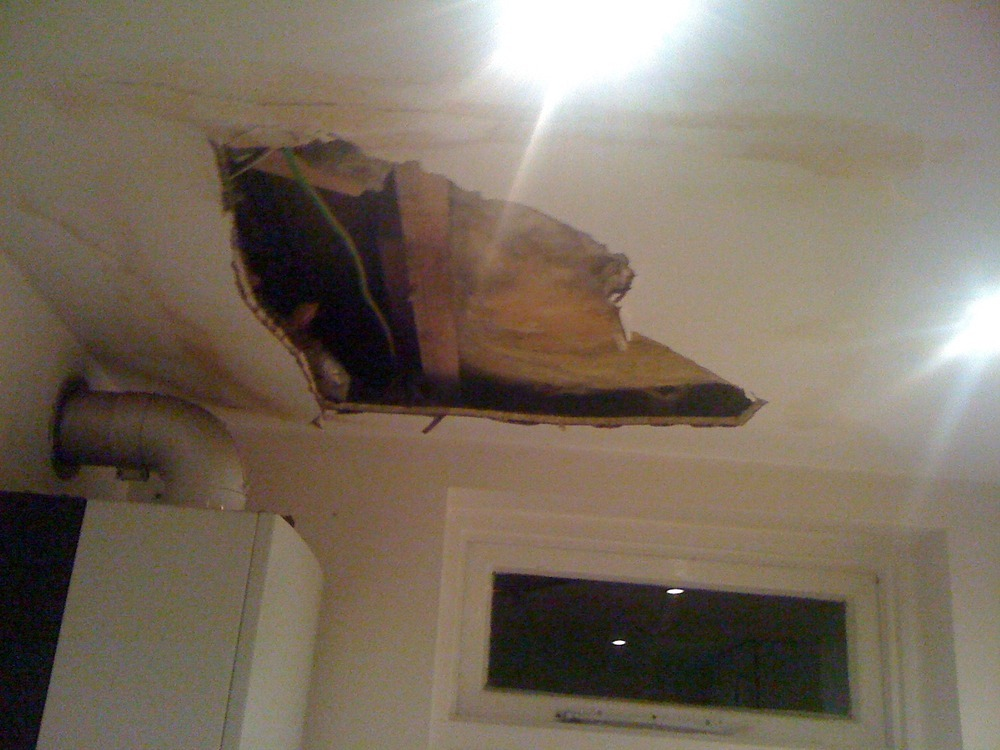 repair damage damaged for ceiling water suburbs services restoration chicago