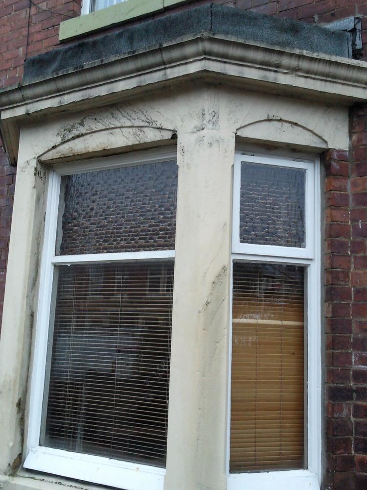 Tyneside Flat Bay Window Repaint Repair Amp Newflat Roof