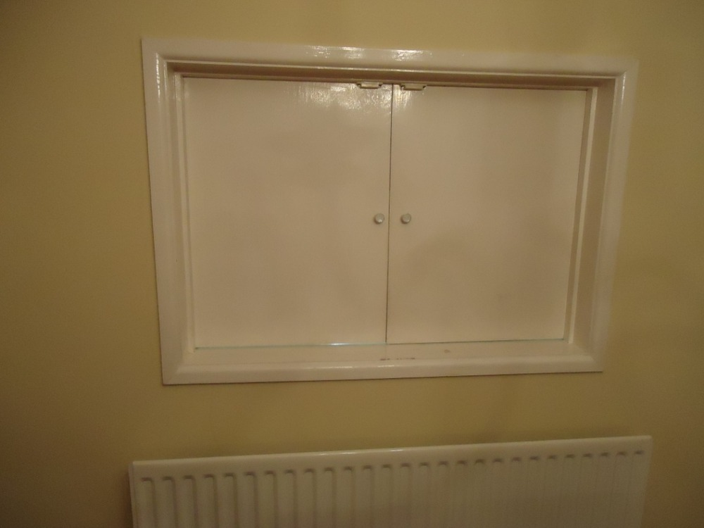 Fill In Hatch Between Kitchen And Diningroom Plastering