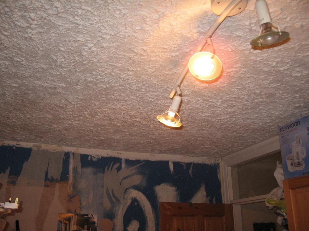 artex ceiling needs boarding and skimming plastering job. Black Bedroom Furniture Sets. Home Design Ideas