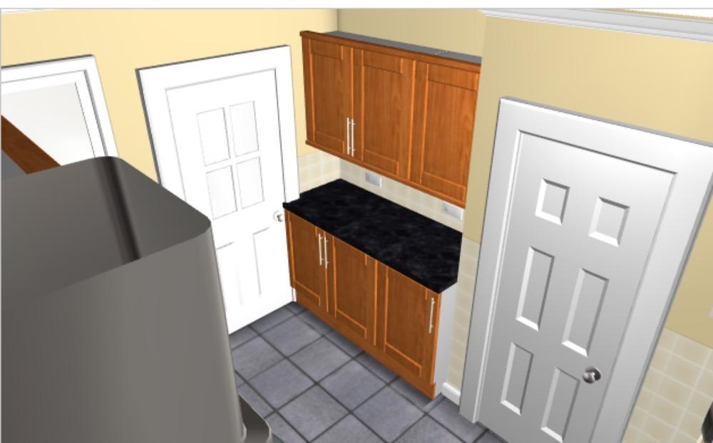Fit B Amp Q Kitchen Units Kitchen Fitting Job In Glasgow