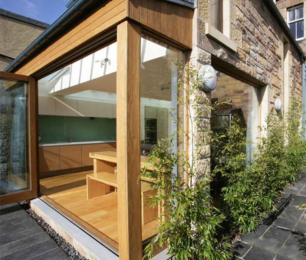 Glass Wood Extension Extensions Job In Godalming Surrey