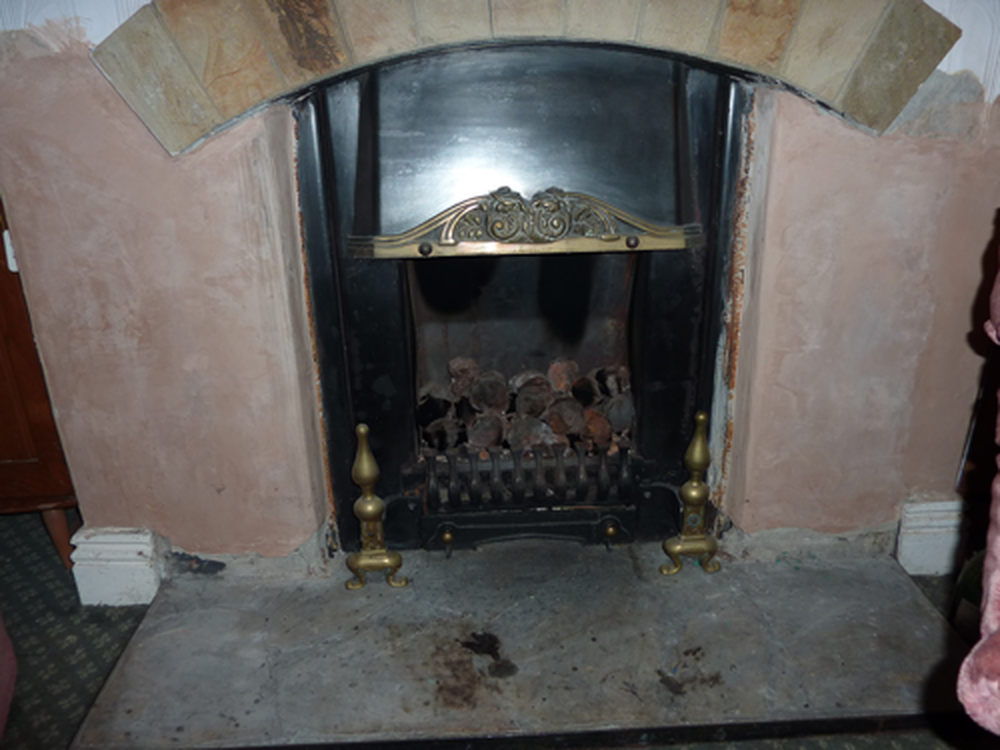 How insert gas fireplace to operate your