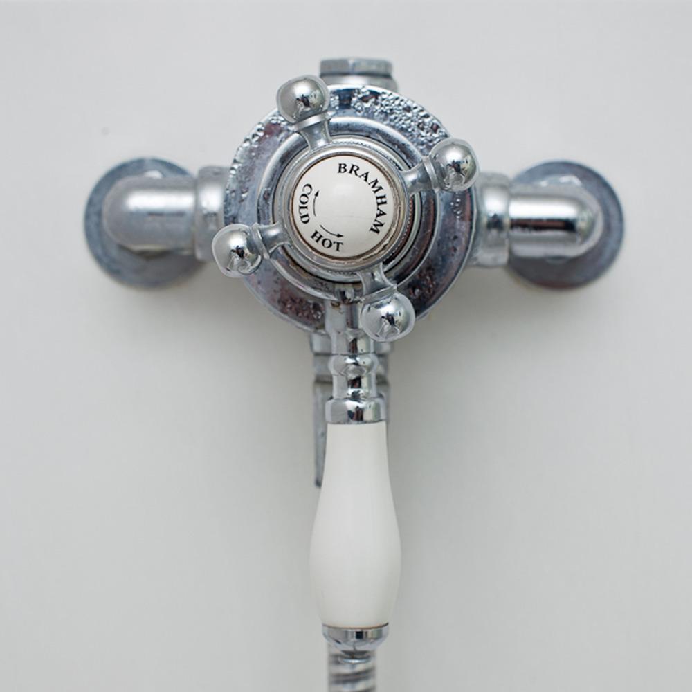 Sirrus Bramham Shower mixer runs whilst turned off - Plumbing job in ...