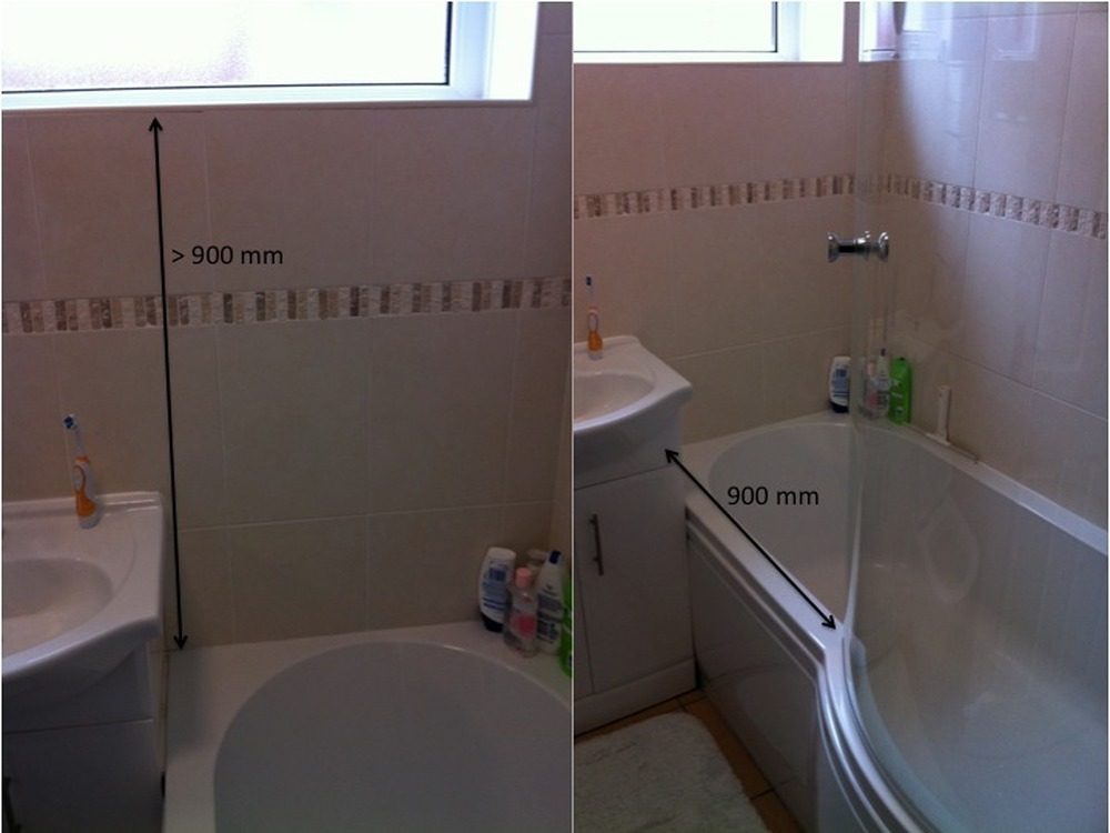 Supply And Maybe Fit Bespoke Bath Shower Screen