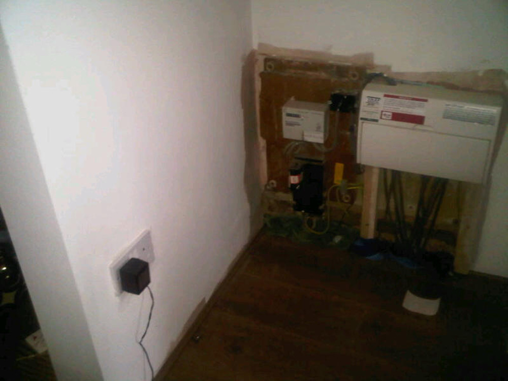 Build Cupboard Bookcase To Hide Electric Meter Joinery