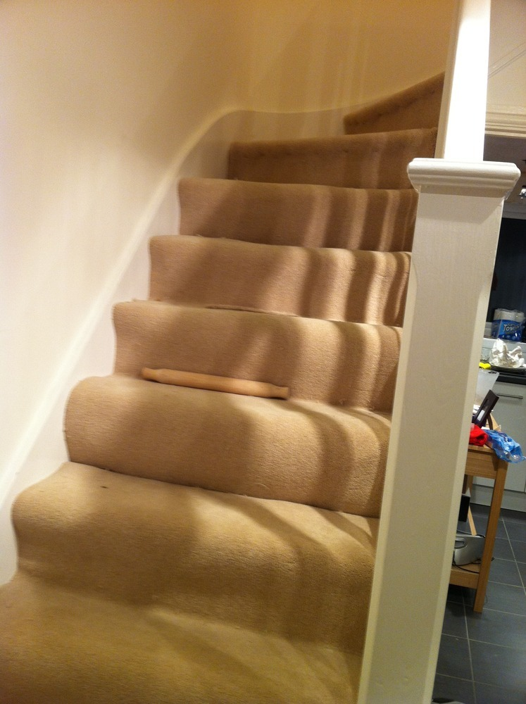 Stair Carpet Fitting Denton Carpet Fitting Job In