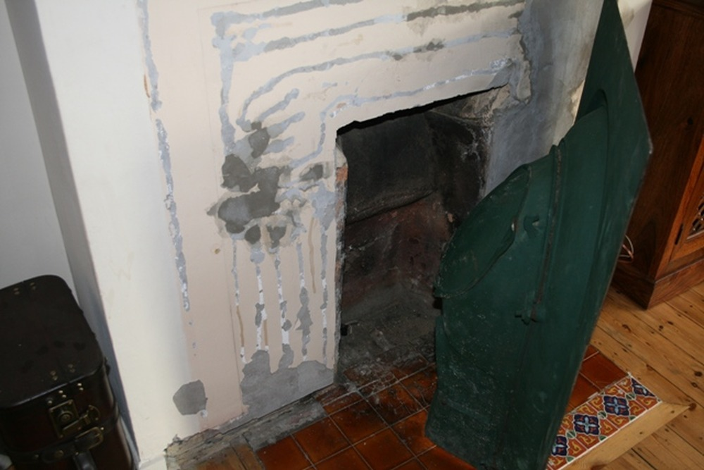 Cast In Place Chimney : Install victorian cast iron fireplace restoration