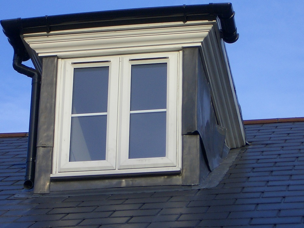 Cladding Extension Lead : Lead cladding on two dormer windows has slipped roofing